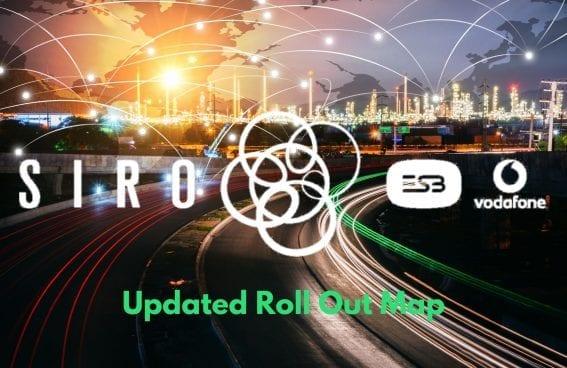 SIRO Rollout Map