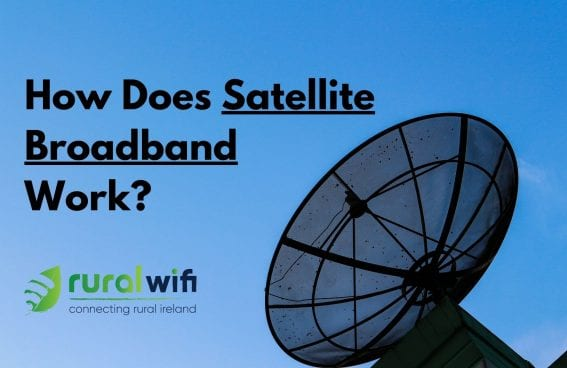 How Does Satellite Broadband Work?
