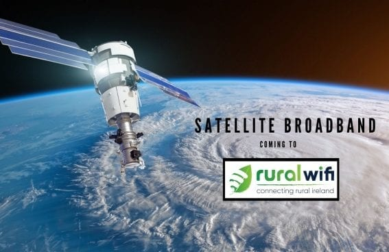 Satellite Broadband Now Coming to Rural WiFi!