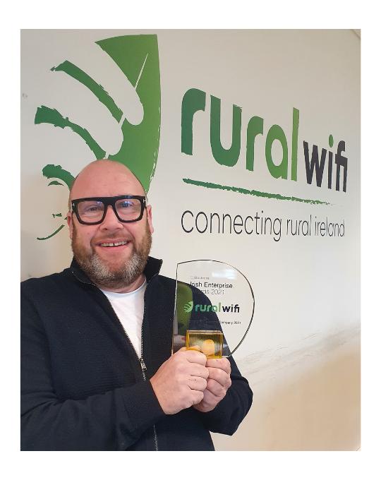 Best Emerging Telecoms Company' – Irish Enterprise Awards 2021